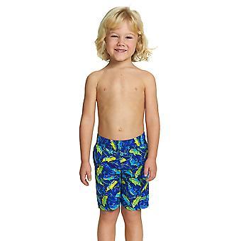 Mittelerweile Junior Boy Schwimmen Shorts blau/grün für Kinder von 1-6 Jahre