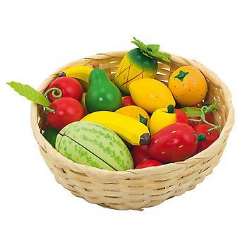 Fruits dans un panier, 23dlg.
