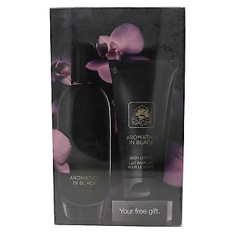 Clinique Exclusive Aromatics In Black 2-Pieces Gift Set New In Box