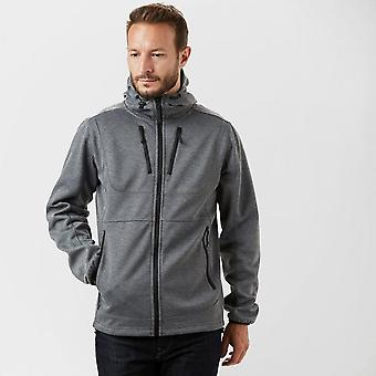 New Hi-Tec Men's Monterey Long Sleeve Full Zip Hoodie Grey