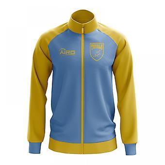 Tuvalu konceptet fotboll Track Jacket (Sky)
