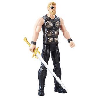 Marvel Titan Hero Series Thor Figure With Power FX Port