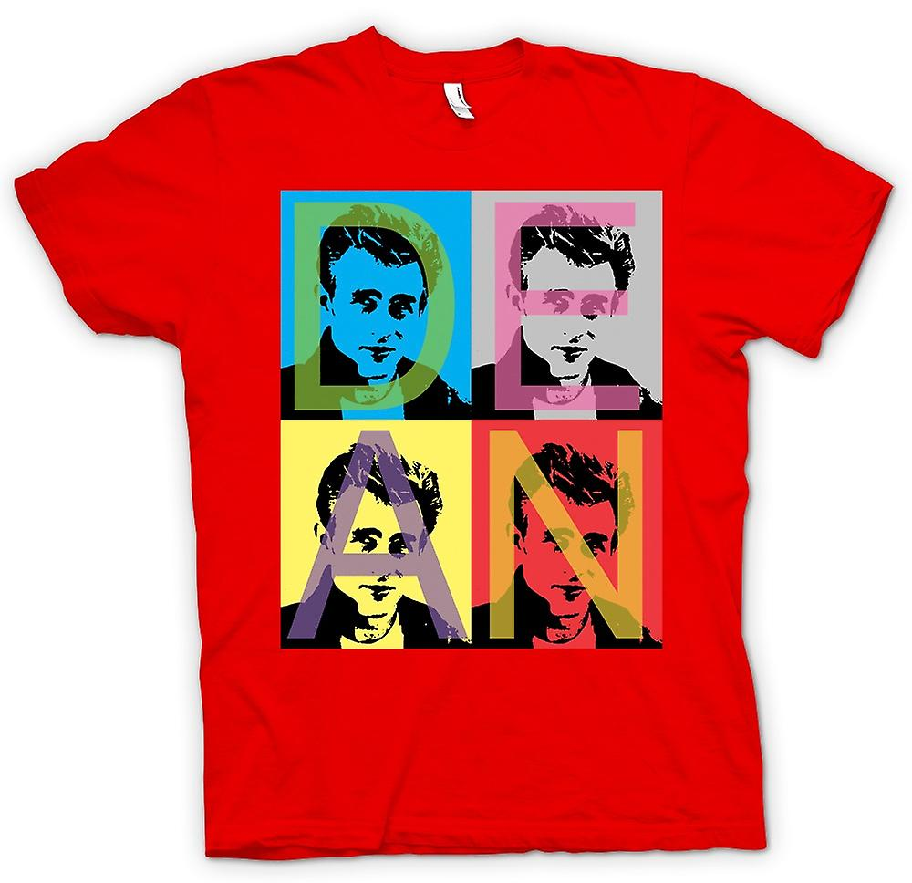 Camiseta para hombre - James Dean rebelde - Pop Art - Warhol