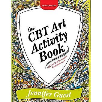 A arte CBT atividade livro - 100 apostilas ilustradas para Ther criativo