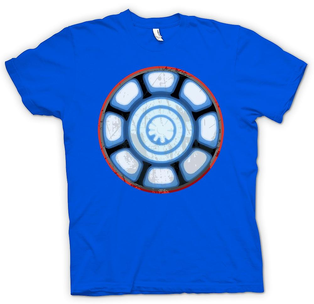 Mens T-shirt - Iron Man Arc Reactor hart - Cool