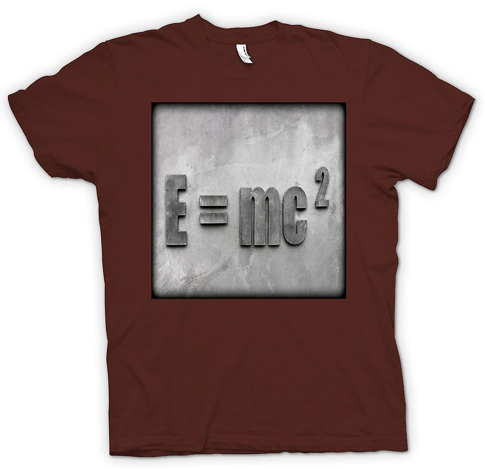 Mens T-shirt - Einstein E=MC2