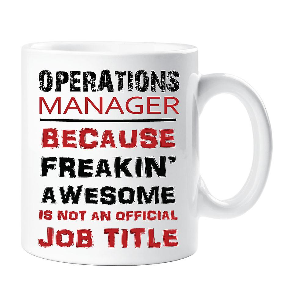 Mug An Official Title Awesome Job Manager Isn't Operations Freakin Because lcFKJ1