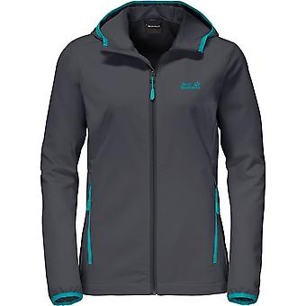 Jack Wolfskin Womens Turbulence Jacket Waterproof/Highly Breathable