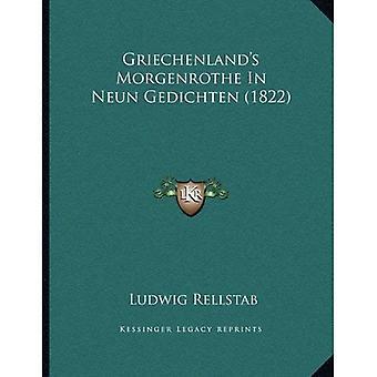 Griechenland's Morgenrothe i Neun Gedichten (1822)