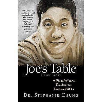 Joes tabell - en sann historia: en plats där funktionshinder blir gåvor