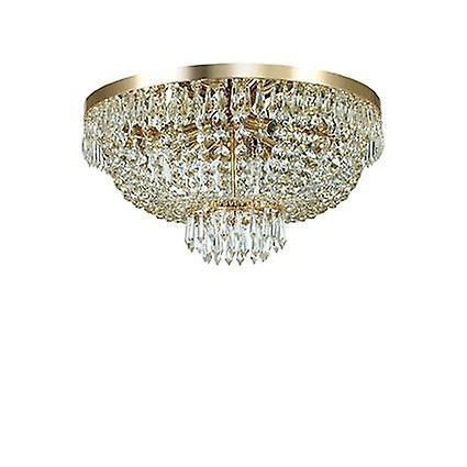 Ideal Lux - Caesar or Finish Six lumière Flush Fitting With crystals IDL114682