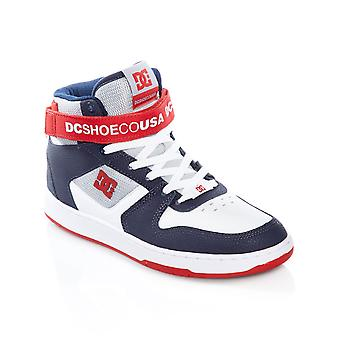 DC White-Navy-Red Pensford Shoe