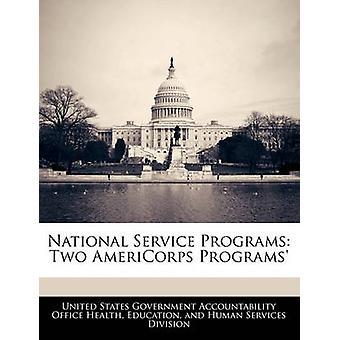 Verneplikten programmer to AmeriCorps programmer etter USA regjeringen ansvarlighet