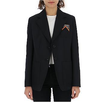 Prada Black Polyester Blazer