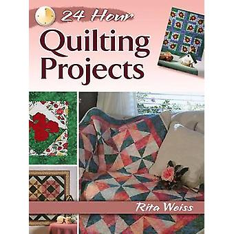 24-Hour Quilting Projects by Rita Weiss - 9780486800318 Book