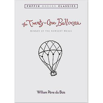 The 21 Balloons by William Pene Du Bois - 9781417746965 Book