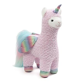 Gund Llamacorn Sparkles Pink with Wings 40cm