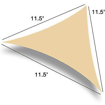 Triángulo de sombra de vela moderna (11,5' lados)