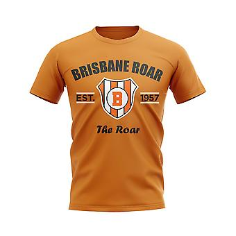 Brisbane Roar etabliert Fußball T-Shirt (Orange)