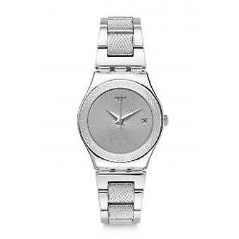 Swatch Classy Silver Damenuhr (YLS466G)