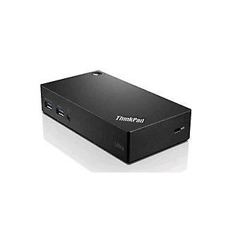 Lenovo 40a80045en docking station interface USB 3,0 kleur zwart