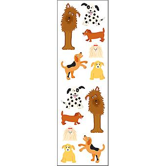 Mrs. Grossman's Stickers Playful Dogs Mg199 58183