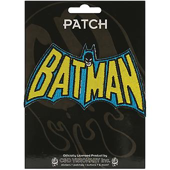 Dc Comics Super Hero Patches Batman Insignia 2 1 4
