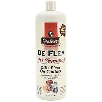 DeFlea Shampoo For Dogs & Cats 33.8oz-  11012