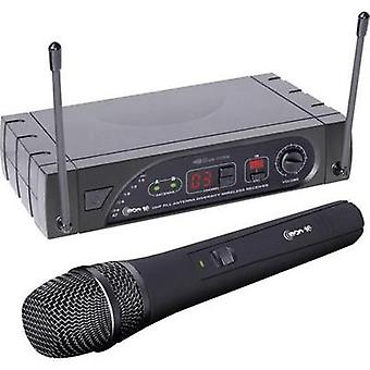 Wireless microphone set LD Systems ECO16HHD Transfer type:Radio
