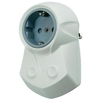 In-line socket + line filter Ehmann 0463x0000 White