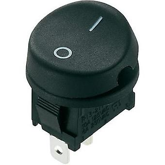 Toggle switch 250 Vac 10 A 1 x Off/On SCI R13-211A-02 latch 1 pc(s)