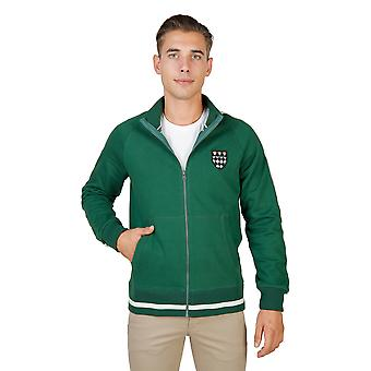 Oxford University Sweater men Green