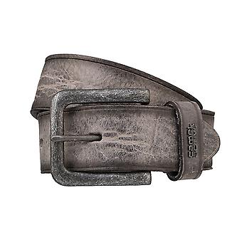 Camel active belts men's belts leather belt grey 3237