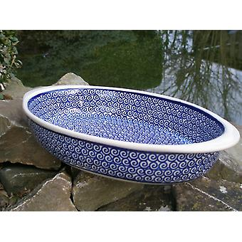Bagning fad, oval, 28 x 19, 5 cm, tradition 63, BSN m-4995