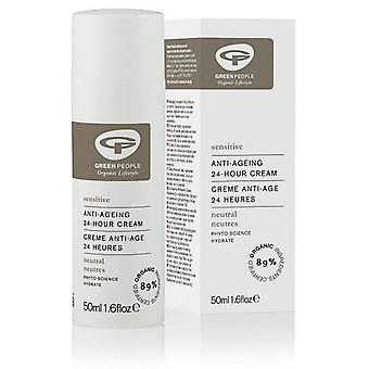 Green People 24 Hours Hydrating Cream Without Perfume 50 Ml