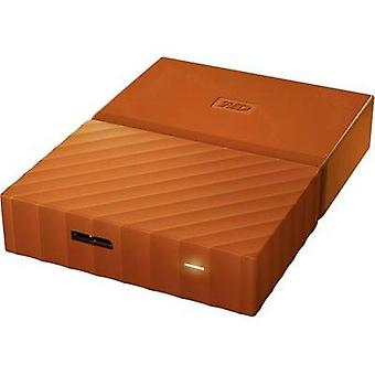 2.5 external hard drive 3 TB Western Digital My Passport Orange USB 3.0