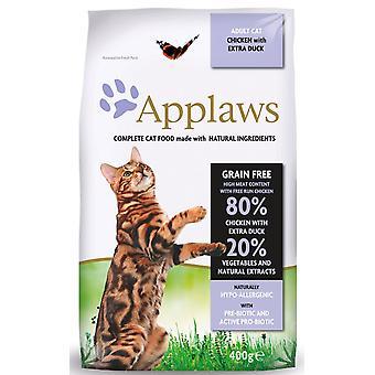 Applaws kat tør kylling med ekstra and 400g