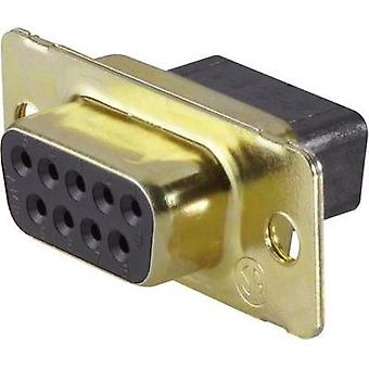 D-SUB receptacles 180 ° Number of pins: 50 TE Connectivity