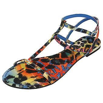 Ladies Savannah Flat Strappy Sandals