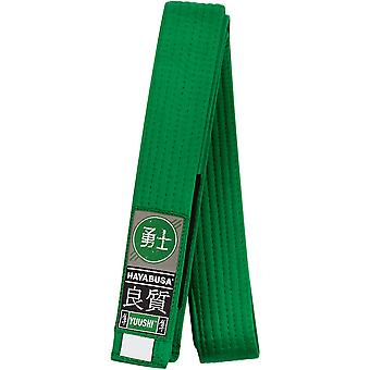 Hayabusa Youth Jiu-Jitsu Belt - Green