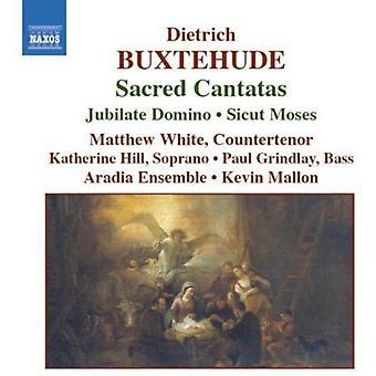 D. Buxtehude - Buxtehude: Importazione cantate sacre [CD] Stati Uniti d'America