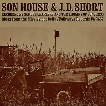J.D. Short & Son House - J.D. Short & Son House: Blues From the Mississippi [CD] USA import