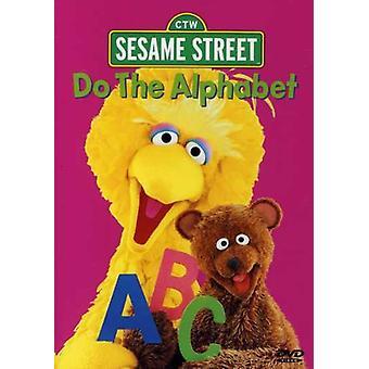 Sesame Street - importerer alfabet [DVD] USA