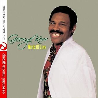 George Kerr - ord of Love [DVD] USA import