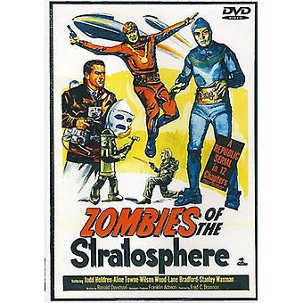 Zombier af stratosfæren [DVD] USA importerer