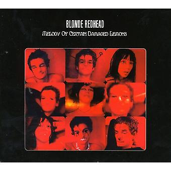 Blonde Redhead - Melody of Certain Damaged Lemo [CD] USA import