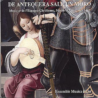 Musica Ficta - De Antequera Sale Un Moro: Musique De L'Espagne Chr Tienne, Maure Et Juive, Vers 1492 [CD] USA import