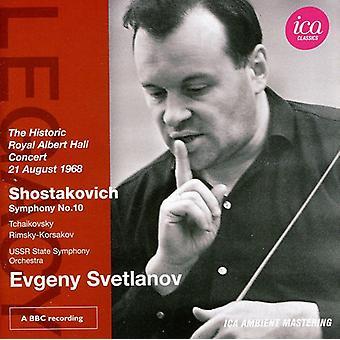 Sjostakovitj/Tchaikovsky/men-Korsakov-Sjostakovitj: Symfoni No. 10 [CD] USA import