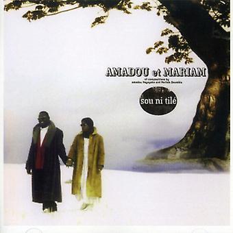 Amadou Et Mariam - importación de Estados Unidos Sou Ni Tile [CD]