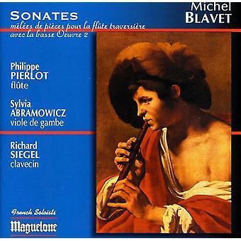 M. Blavet - Michel Blavet: Sonates M L Es De Pi Ces Pour La Fl Te Traversi Re Avec La Basse, Op. 2 [CD] USA import
